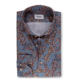 Stenstroms Soft Cotton Casual Paisley Shirt