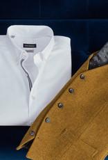 Roy Robson Textured Mustard waistcoat