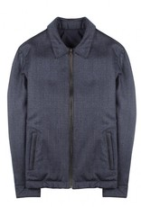 Torras Reversible Cashmere/Leather Bomber