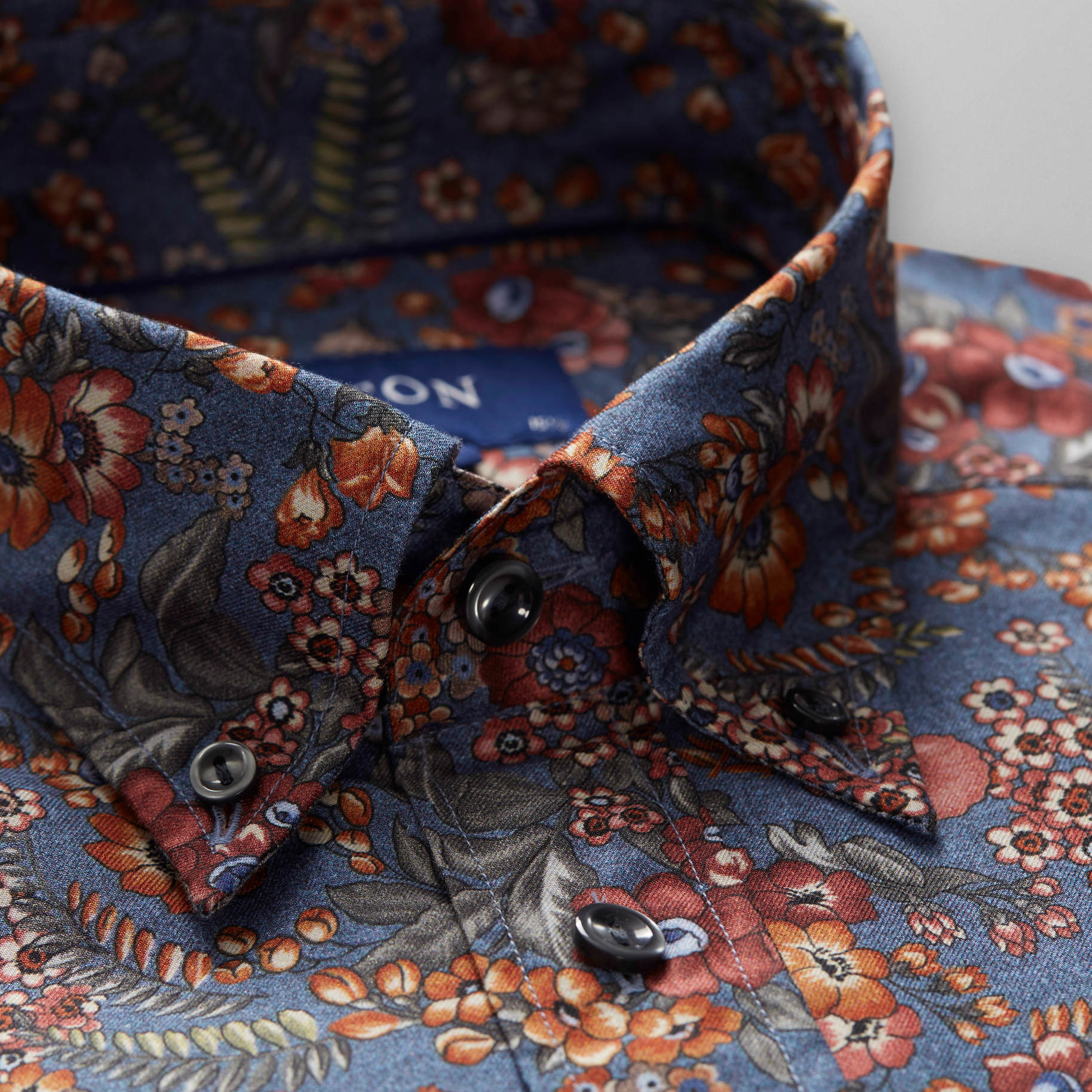Eton Floral Printed Flannel