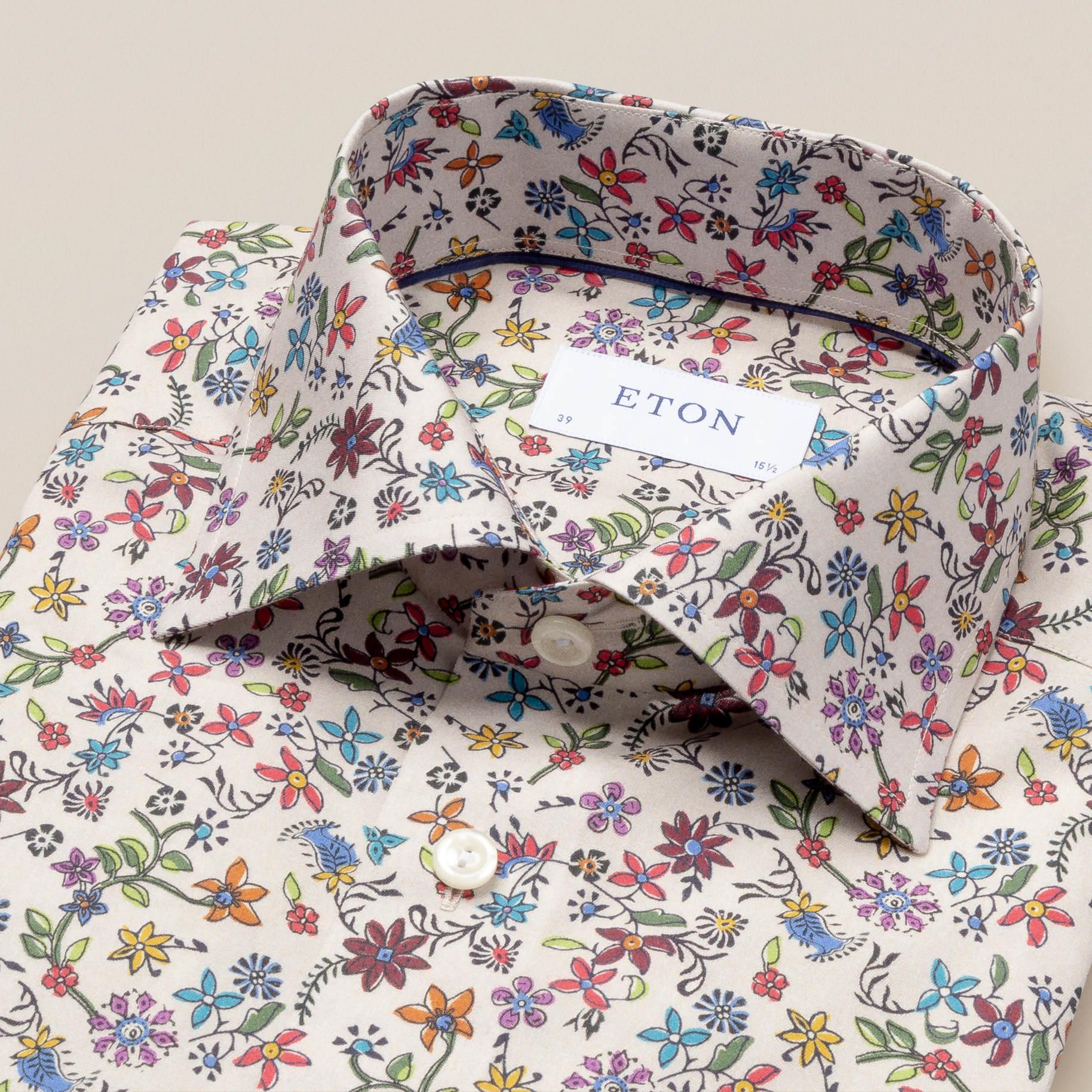 Eton Multi-coloured Daisy Print