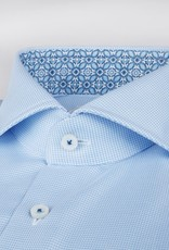 Stenstroms Micro Patterned two fold cotton with trim detail