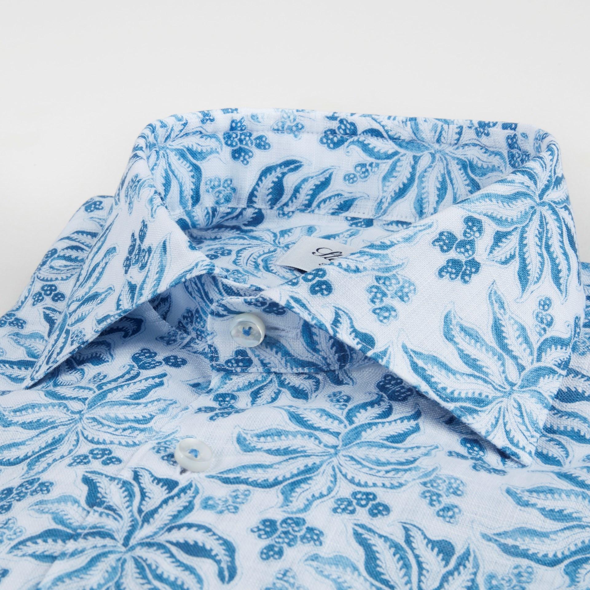 Stenstroms Blue leaf linen