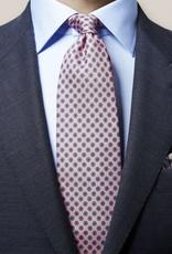 Eton Pink Geometric Tie