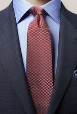 Eton Red Geometric Tie