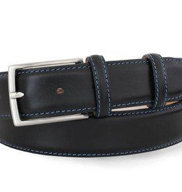 Robert Charles Black leather (Blue Stitching)