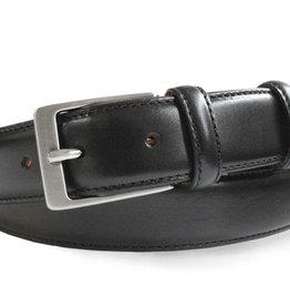 Robert Charles Black Leather Belt