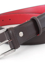 Robert Charles Brown calf leather with Red lining