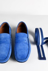 Roy Robson Robson bright blue moccasin