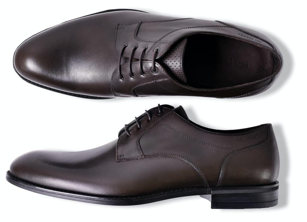 Roy Robson Mahogany Oxford Shoe