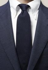 Eton Navy Grenadine Tie