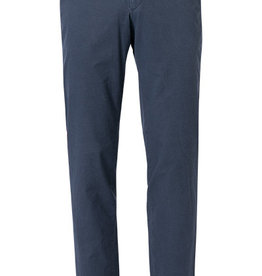 Hiltl Blue Pima chino with red trim