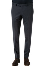 Hiltl Perfetto Signature Pure Wool Trouser - Charcoal