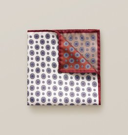 Eton Brown Four Pocket Pocket Square