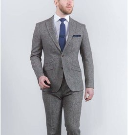 Torre Grey Donegal tweed jacket