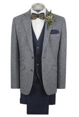 Torre Blue Donegal tweed jacket