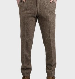 Torre Taupe Donnegal tweed trouser