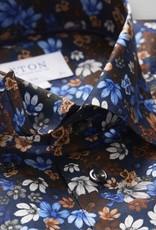 Eton Navy Floral Print