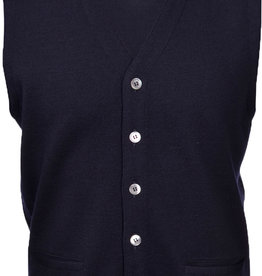 Gran Sasso Merino Wool Waistcoat with pocket