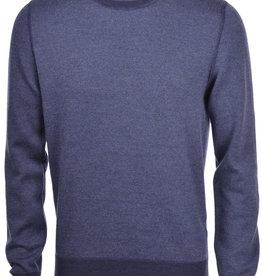 Gran Sasso Salt and pepper Crew Neck