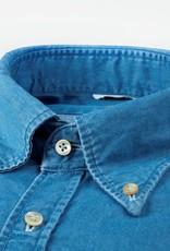 Stenstroms Button Down Denim Shirt - Slim Fit