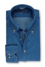 Stenstroms Button Down Denim Shirt - Fitted body