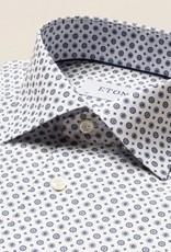 Eton Hexagonal Print on Signature Twill