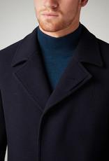 Remus Uomo Lohman Overcoat Navy