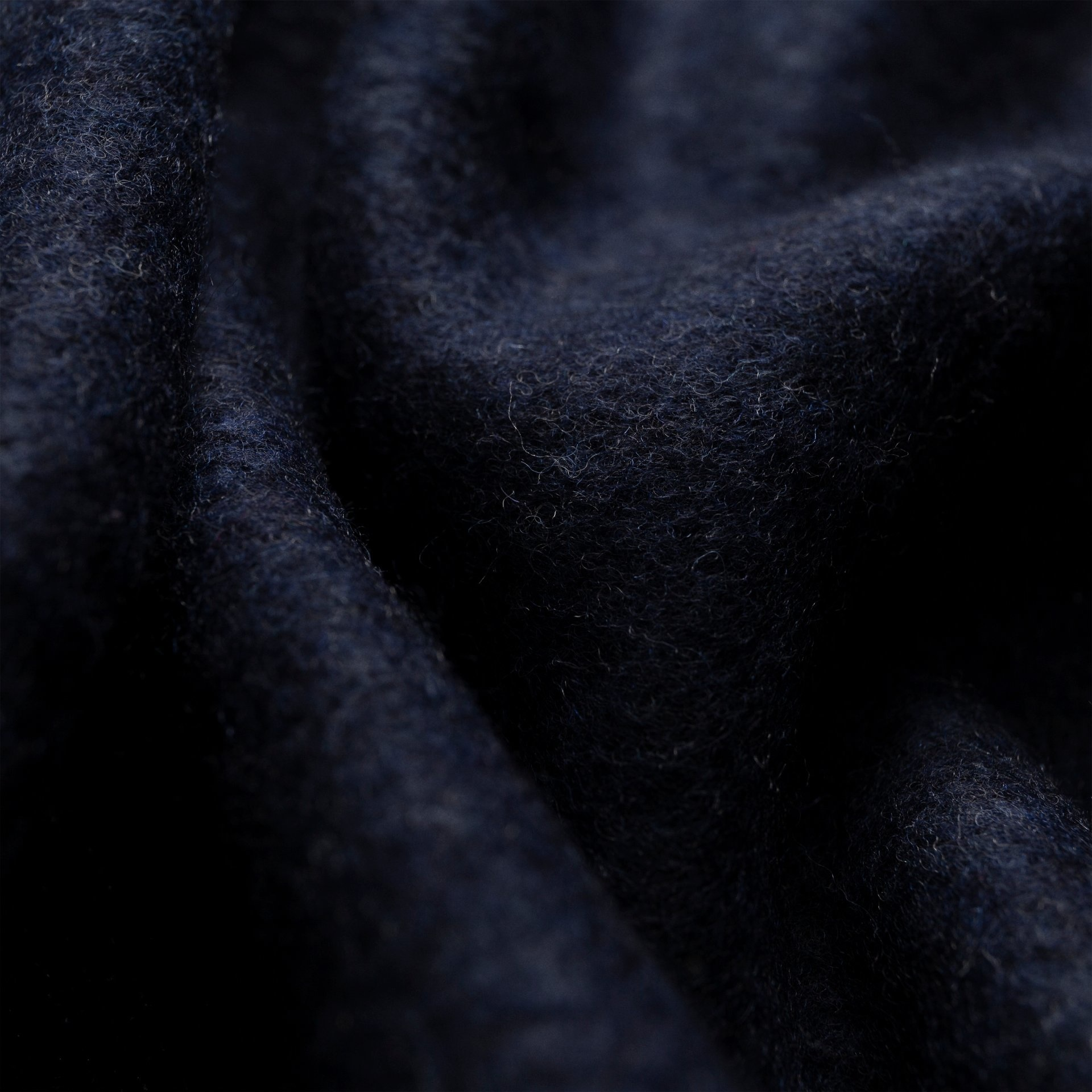Eton Midnight Blue Wool Scarf