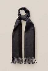 Eton Dark Grey/Brown Wool Scarf