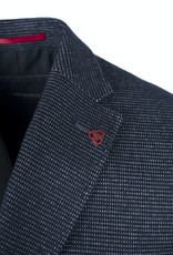 Roy Robson Navy Cotton/Wool Pin Dot jacket - Slim
