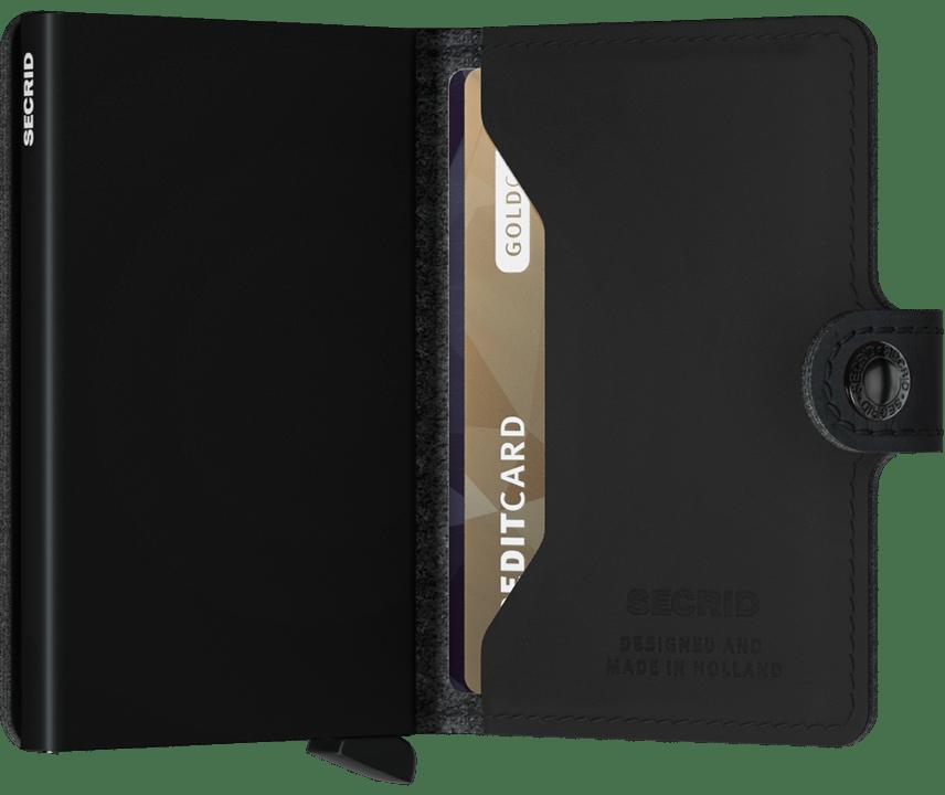 Secrid Perforated Black Mini Wallet