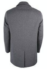 Roy Robson Light Grey Wool & Cashmere Town Coat