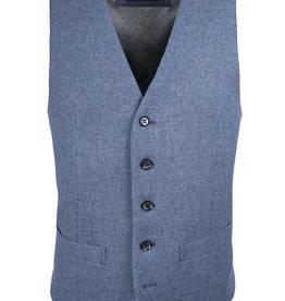 Roy Robson Pale blue wool waistcoat
