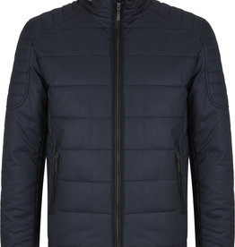 Charcoal Casual Protected Cotton Jacket
