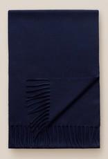 Eton Navy Cashmere Scarf
