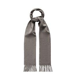 Eton Dark Grey Cashmere Scarf
