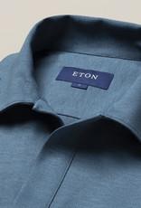Eton Open Collar Short Sleeve Polo shirt