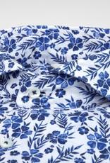 Stenstroms Floral Linen Slim Fit shirt