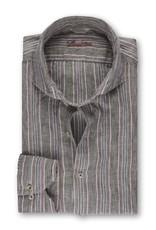 Stenstroms Narrow Striped Linen Shirt