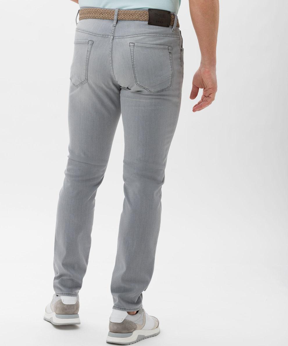 Brax Organic Cotton Hi Flex Grey Summer Jean