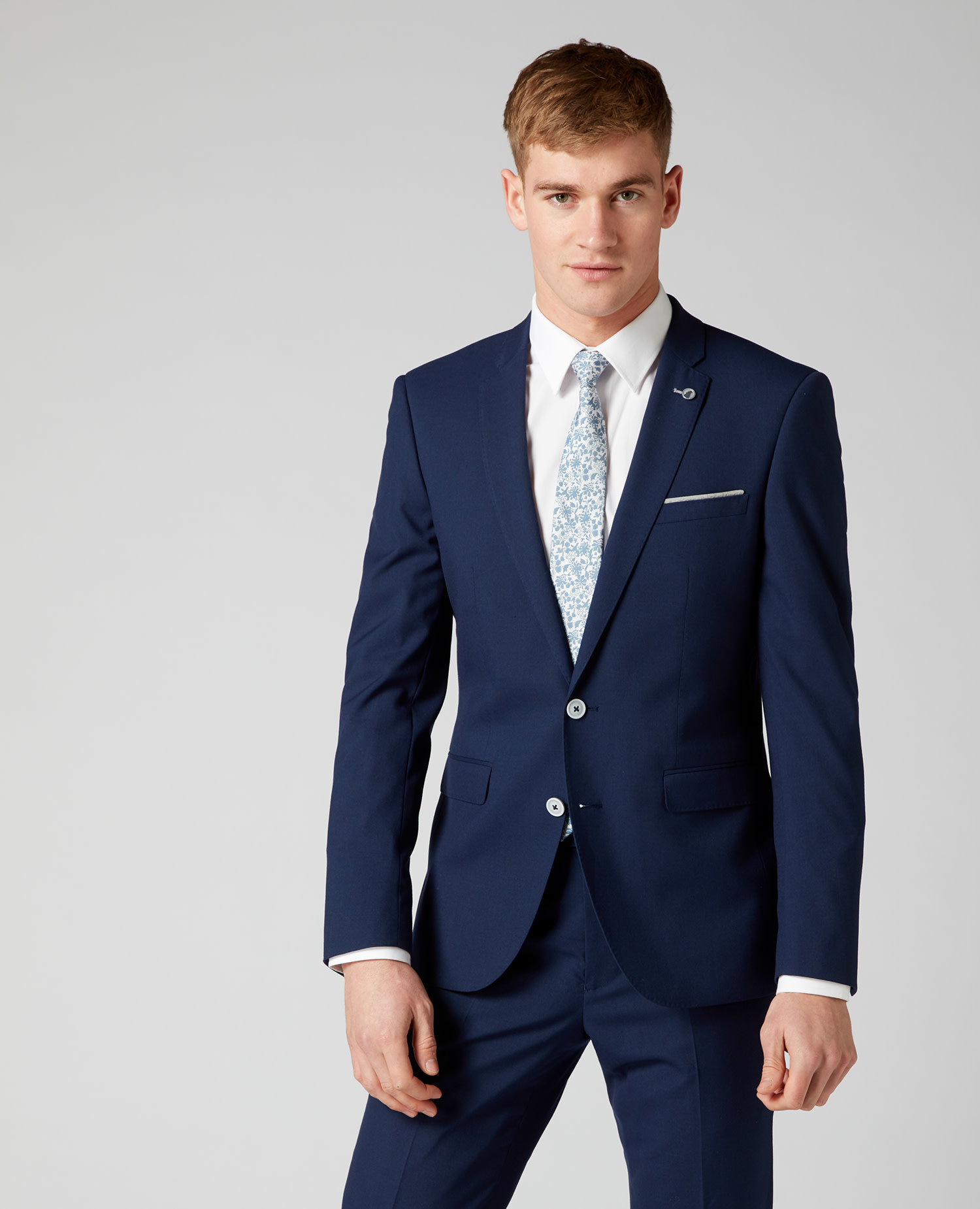 Remus Uomo Navy Stretch 2 piece suit