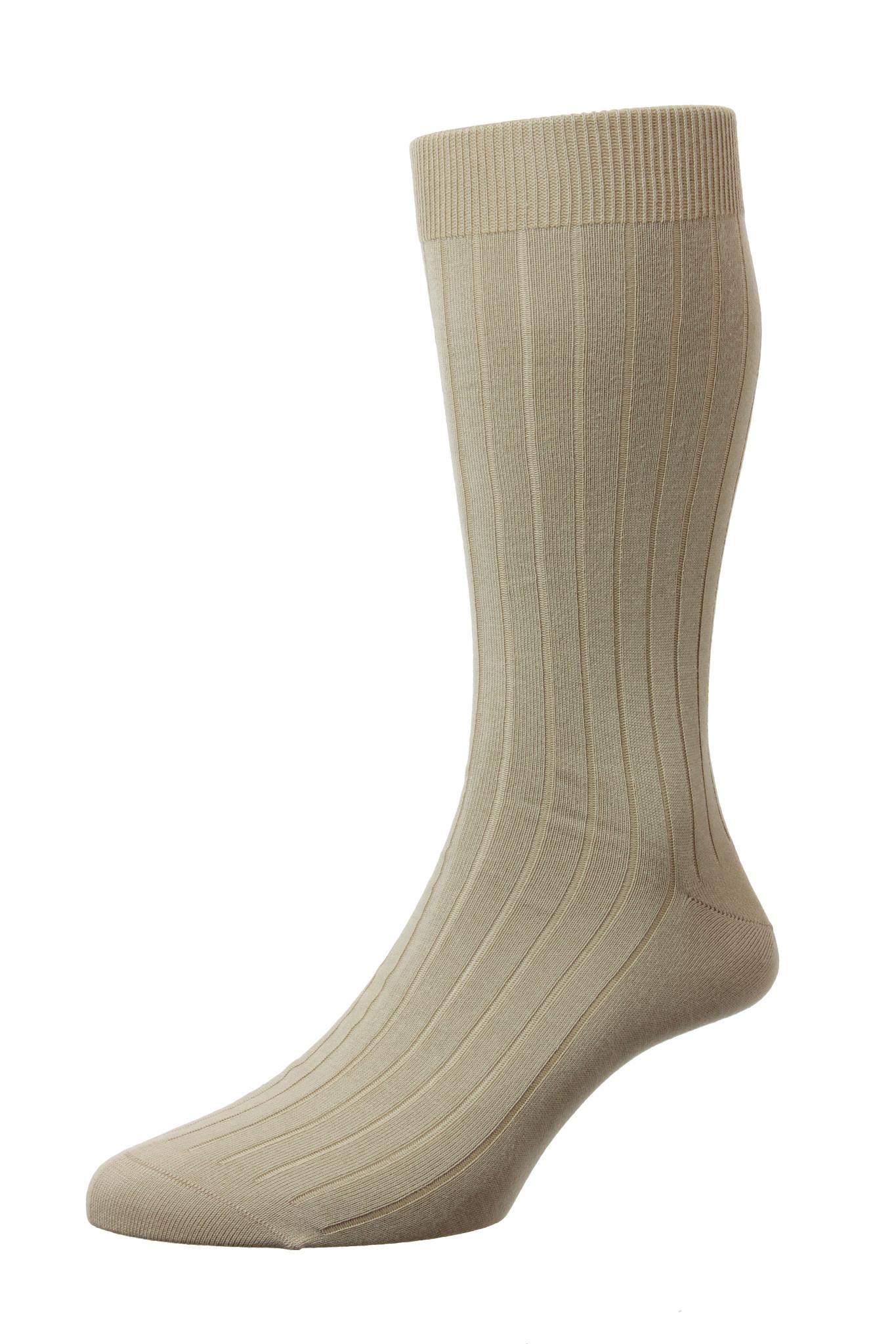 Pantherella Sea Island Cotton Socks - Pembrey