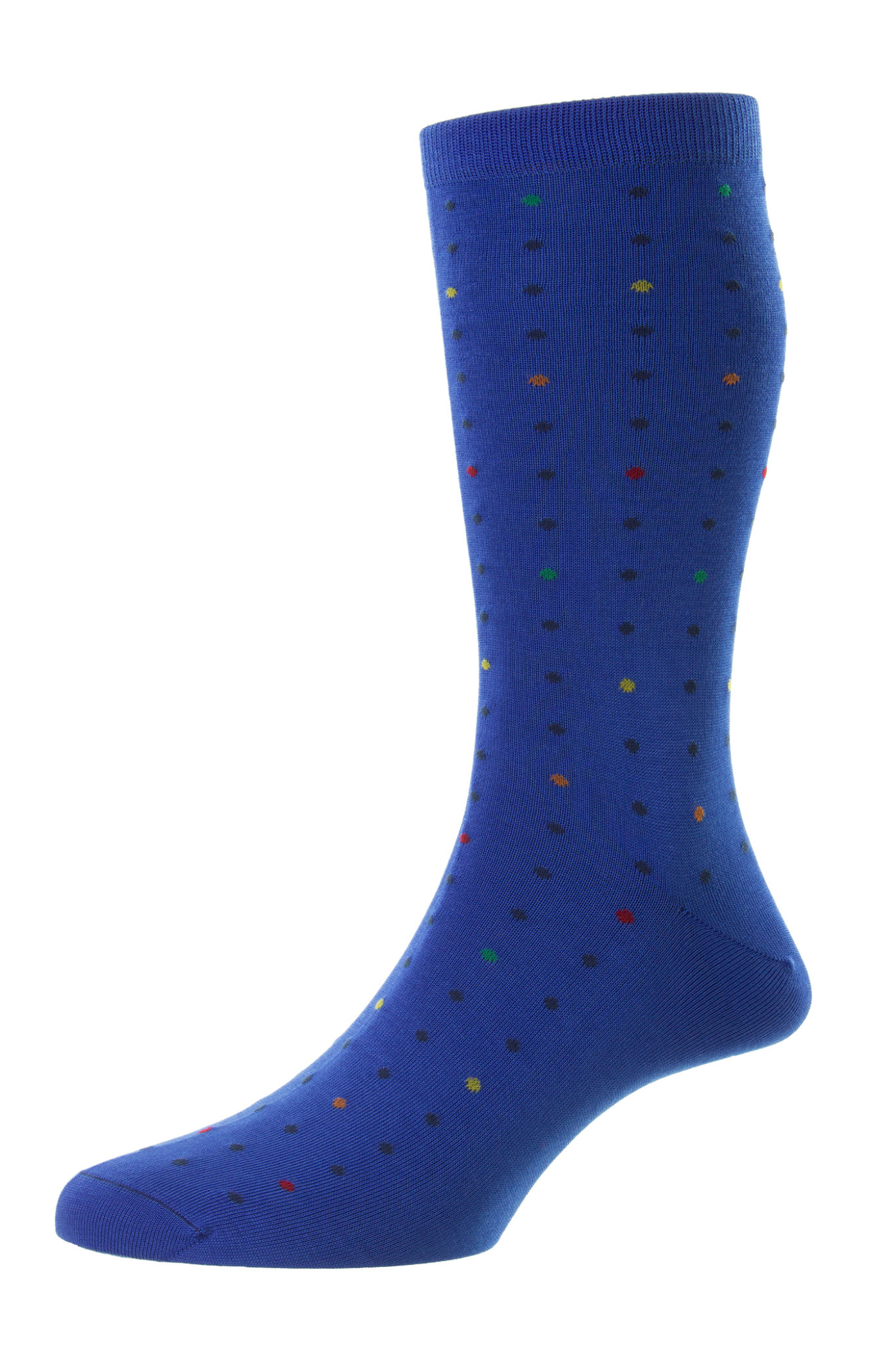 Pantherella New Mini Spot Sock - Shelford