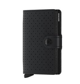Secrid miniwallet perforated black