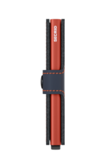 Secrid miniwallet matte nightblue & orange