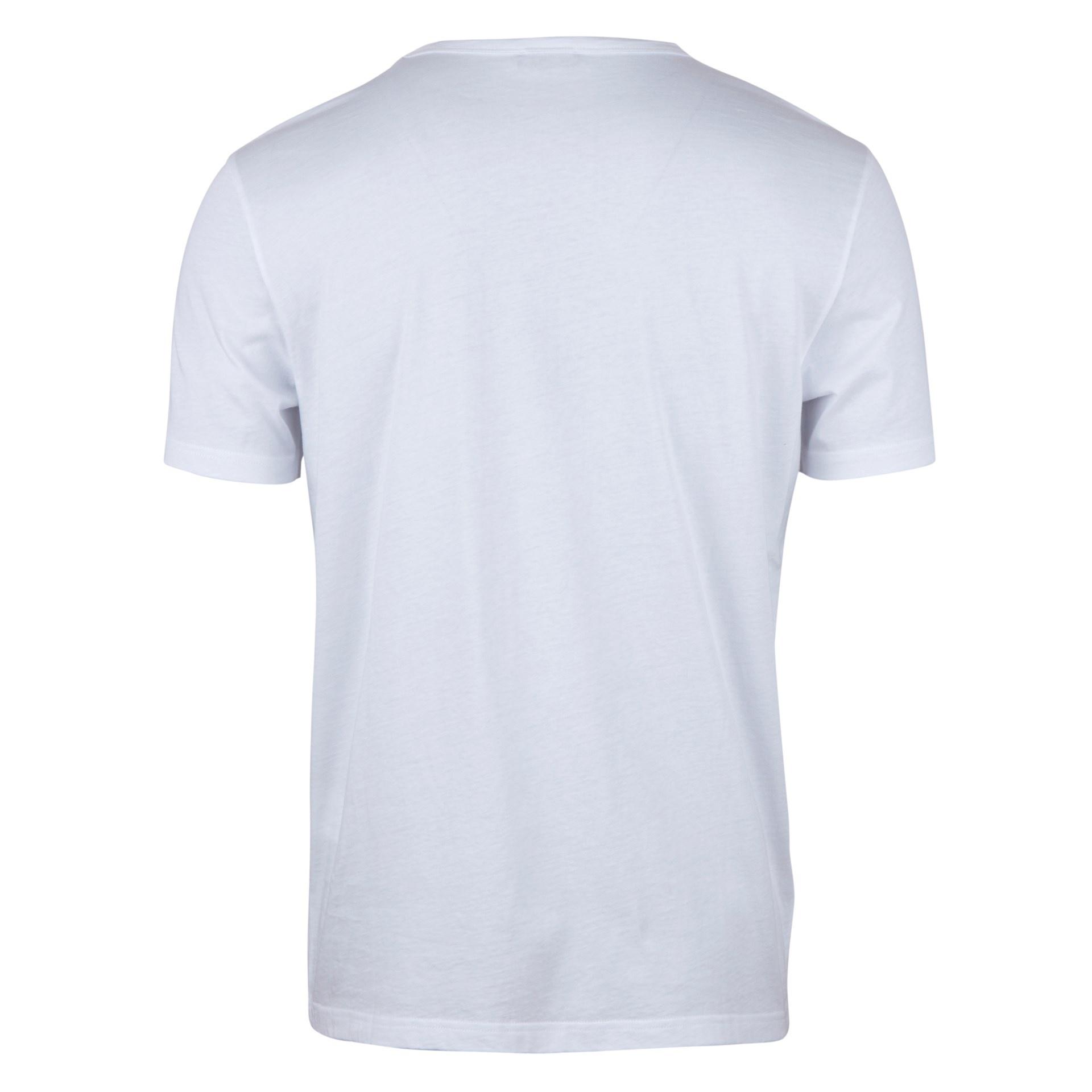 Stenstroms White cotton T-shirt
