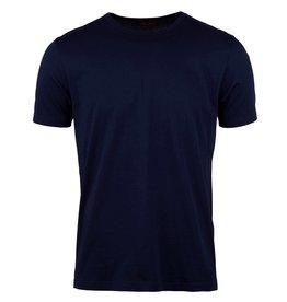 Stenstroms Navy cotton T-shirt