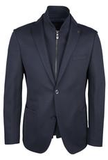 Roy Robson Navy inner zip Jersey Jacket