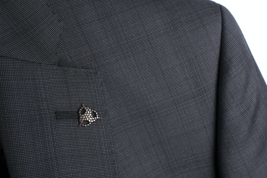 Roy Robson Charcoal Self Check Reda Suit